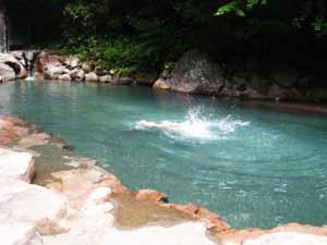 温泉プール1