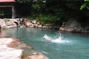 温泉プール2