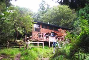 バカ尾根第2の山小屋