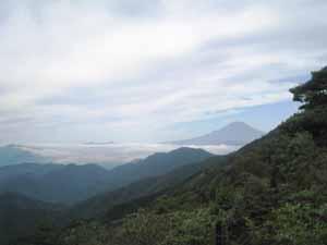 バカ尾根 富士山