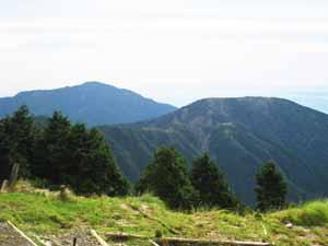 バカ尾根 三の塔、大山