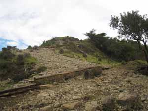 バカ尾根 塔の岳へ
