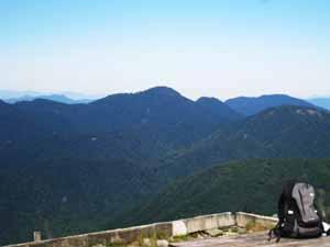 塔の岳山頂 西丹沢