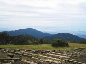 塔の岳山頂 三の塔 大山