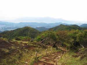 バカ尾根 塔の岳からの下り